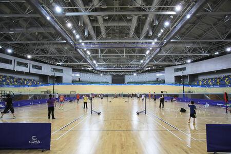 high ceiling: tseung kwan O sport center