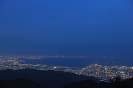 nishinomiya: View of several Japanese cities in the Kansai region