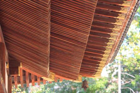 ninnaji: japanese style roof