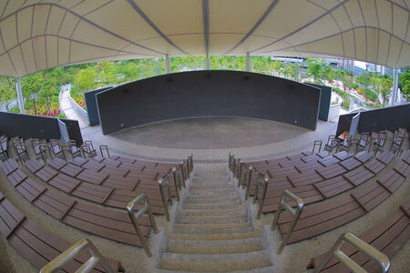 steps and staircases: Amphitheatre