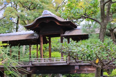 kita: A wooden bridge Stock Photo