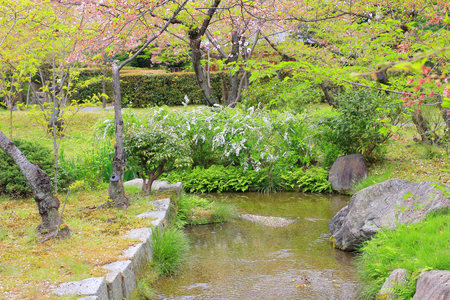 kita: Shoseien Garden Stock Photo