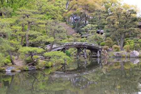 kita: Pond in Shoseien Garden