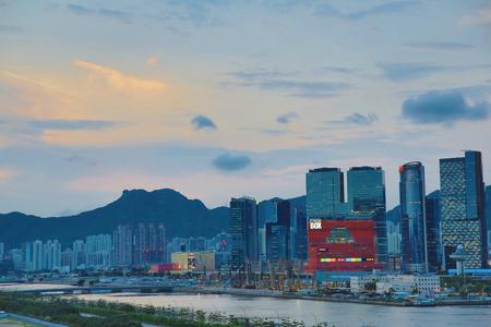 kai tak cruise terminal park view kwun tong Stock Photo - 29279955