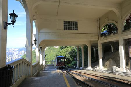 barker: barker tram station Stock Photo