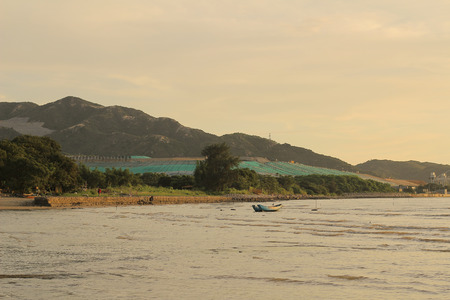 wan: Nim Wan, West New Territories Landfill Stock Photo