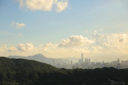 Kowloon side and Hong kong isaland photo