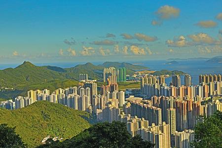 將軍澳,香港 版權商用圖片