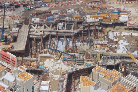 buildup: west kowloon building site