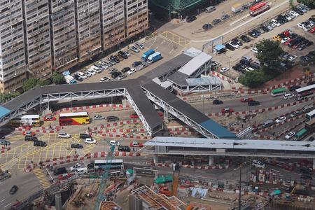 terminus: al oeste de Kowloon Terminus sitio