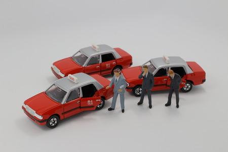 fare: model taxi at hong kong