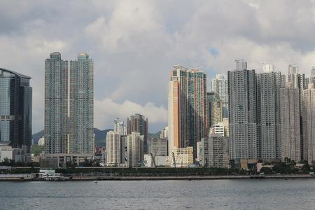 wan: tsuen wan district in Hong Kong Editorial