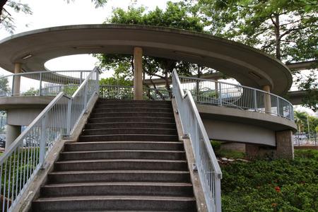 footbridge: footbridge Stock Photo