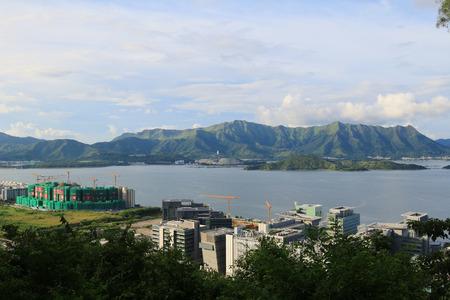 liu: tolo harbour Landscape in Hong Kong,  Tai Po
