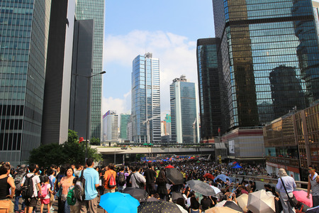 chief executive officers: after 29 Sept umbrella revolution, hong kong Editorial