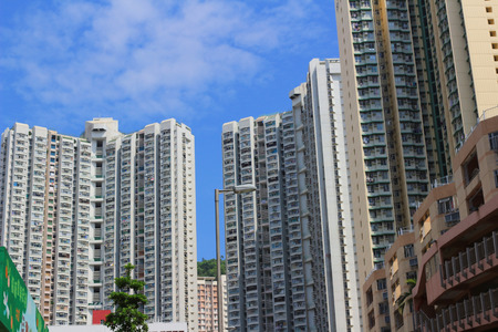public housing: public housing estate, lam tim Editorial