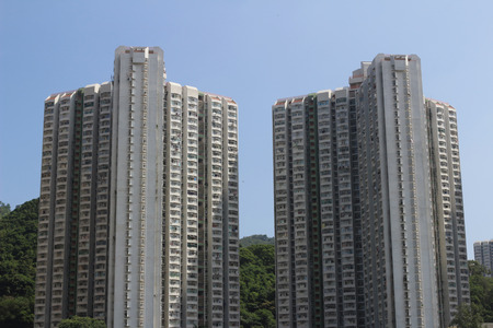public housing: public housing estate at kwun tong Editorial