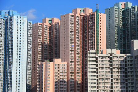 public housing: public housing estate at Tseung Kwan O