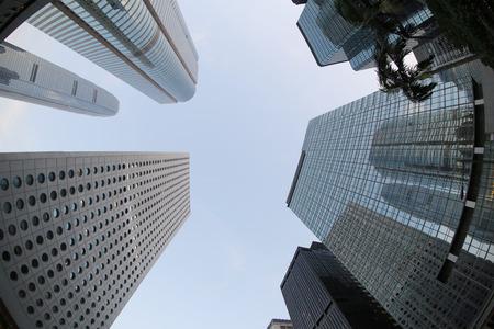 buliding: Hong kong office buliding, central Stock Photo
