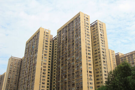 public housing: public housing estate Editorial