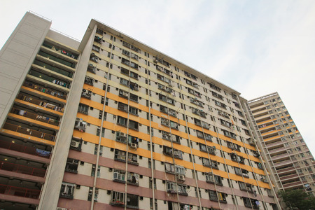 public housing: public housing estate, Hongkong