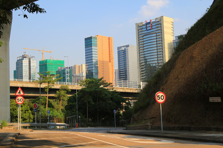 sha: Ching Cheung Road, highway