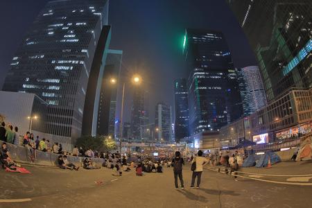 protests: hong kong protests in Occupy Central, Hong Kong