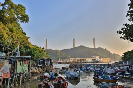 wan: Yung Shue Wan Typhoon shelter