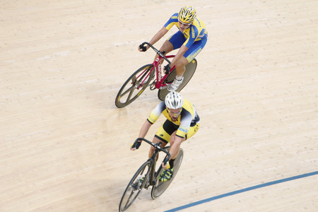 Indoor track cycling