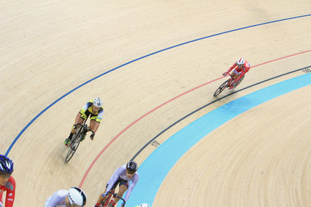 keirin: Indoor track cycling