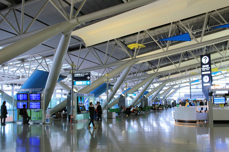 查看裡面的關西機場的機場 新聞圖片