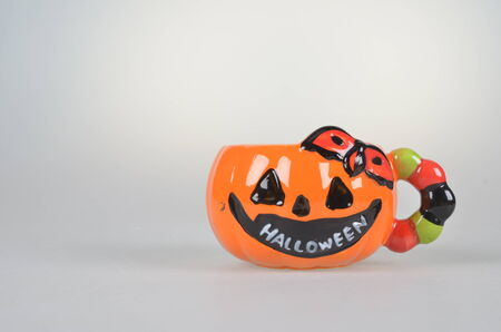milk mustache: Halloween funny cup