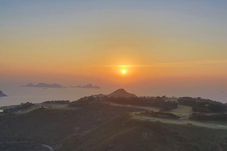 Po Toi O at morning, Hong Kong photo