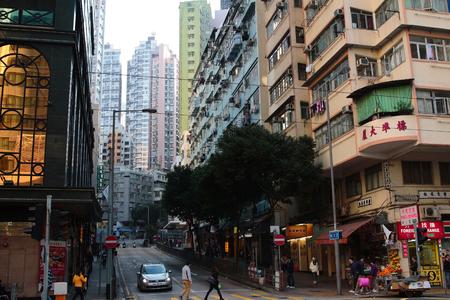 sheung wan district