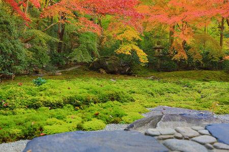 zen garden in japan photo