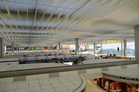 chek: Hall of Terminal International Airport (Chek Lap Kok Airport)