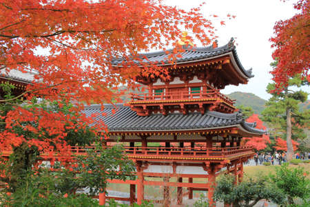 handcarves: fall season in japan temple