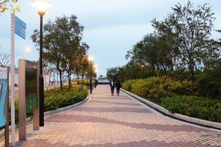promenade: Tseung Kwan O promenade park