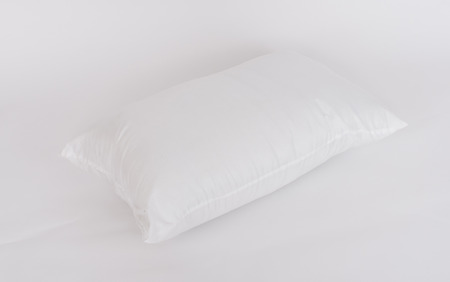pillow case: Soft and hygiene pillow great for your bedroom isolated on white background