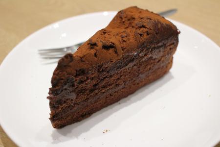 gateau chocolat: G�teau au chocolat noir