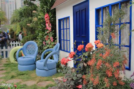 porches: Flower show hong kong at Victoria Park
