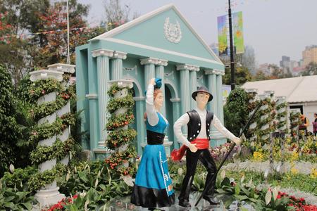 koy: Flower show hong kong at Victoria Park