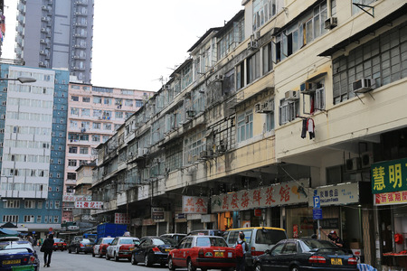sham: old apartment at sham shui po