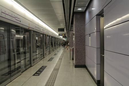 lohas park , Subway station interior