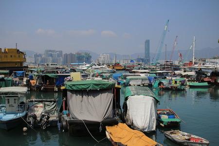 causeway: Causeway Bay Typhoon Shelter
