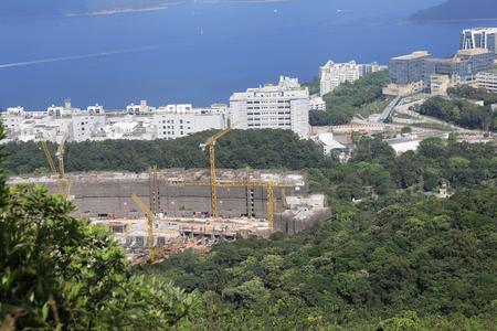 Tai Po Tsai village in Hong Kong