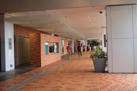 Hallway in the University of Hong Kong