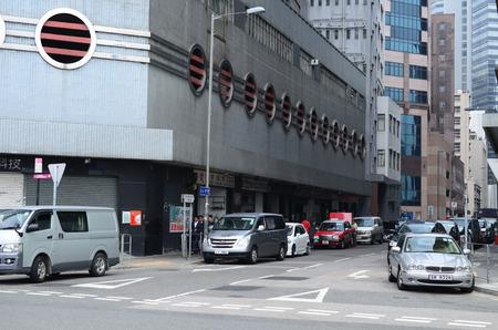 tong: street view of kwun tong, hong kong Editorial