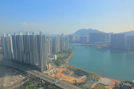 residential building: Residential building in Hong Kong