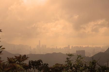 Hong kong view from Razor Hill photo